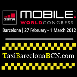 Taxi Mobile World Congress 2012 Barcelona